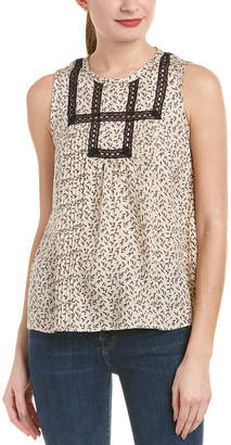 Rebecca Taylor Silk Dragonfly Top