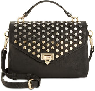 INC International Concepts I.n.c. Jessa Studded Top-Handle Crossbody, Created for Macy's