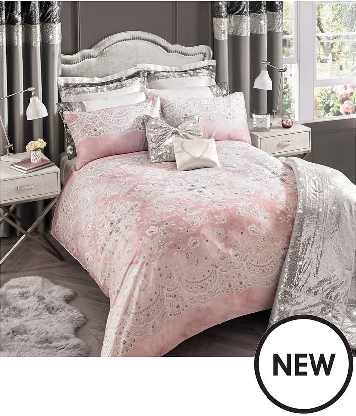 Isabella 100% Cotton Sateen 200 Thread Count Duvet Cover Set