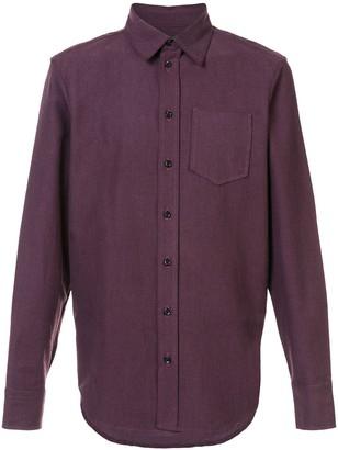 Yang Li longsleeved buttoned shirt