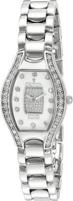 Croton Watches Women's CN207534SSPV Analog Display Quartz Silver Watch