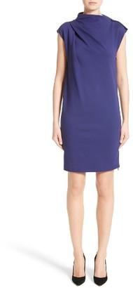 Women's Armani Collezioni Milano Jersey Asymmetrical Dress $745 thestylecure.com