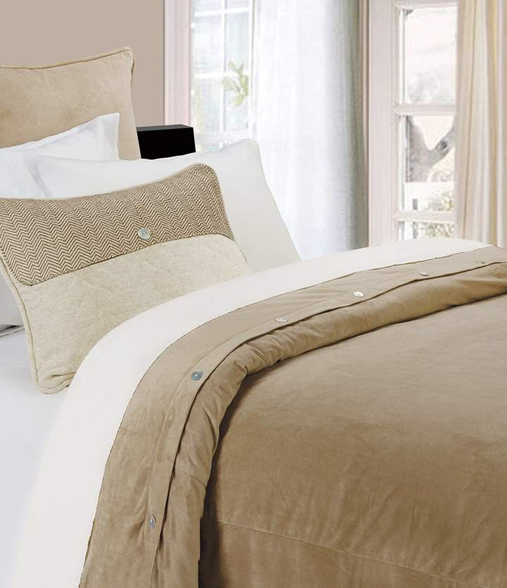 HiEnd Accents Fairfield Velvet Duvet Cover