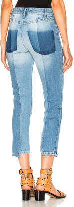 Etoile Isabel Marant Clancy Jeans in Light Blue | FWRD