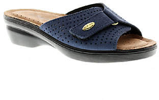 Spring Step Flexus by Kea Leather Slide Sandals