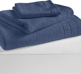 "Calvin Klein Sculpted Grid 13"" x 13"" Washcloth Bedding"