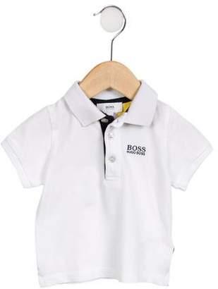 HUGO BOSS Boss by Boys' Short Sleeve Polo Shirt