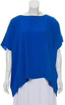 Diane von Furstenberg Oversize Short Sleeve Top w/ Tags