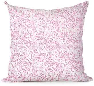 India Amory Petal Paisley Pillowcase