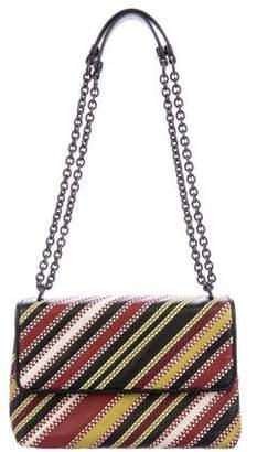 Bottega Veneta Striped Olimpia Shoulder Bag