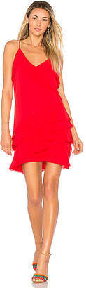 Parker Athens Dress in Red $298 thestylecure.com