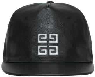 Givenchy Logo Leather Cap