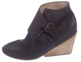 Marsèll Suede Wedge Boots w/ Tags