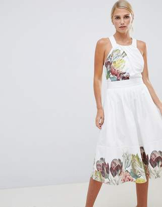 Ted Baker Cotton Midi Dress