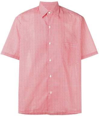 Maison Margiela micro square print shirt