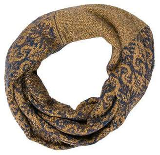 Dries Van Noten Patterned Infinity Scarf