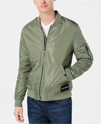 Calvin Klein Jeans Men's Nylon Bomber Jacket