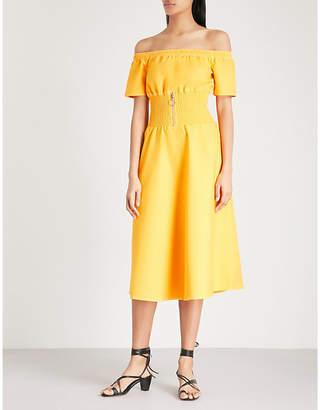 Maje Relera stretch-cotton dress