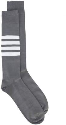 Thom Browne 4-bar striped socks