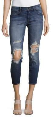 J BrandLow-Rise Cropped Jeans