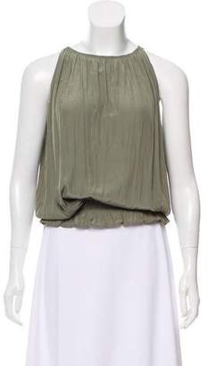 Ramy Brook Sleeveless Ruched Top