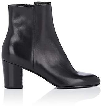 Barneys New York Women's Leather Ankle Boots - Black