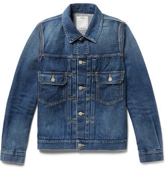 Visvim 101 Selvedge Denim Jacket - Blue