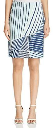 Nic+Zoe Women's Palm Leaf Skirt