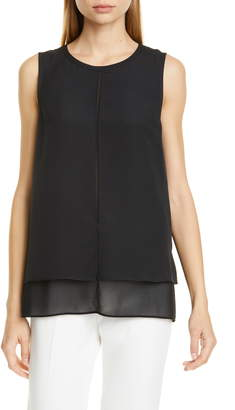 Club Monaco Cindelle Layered Sleeveless Blouse