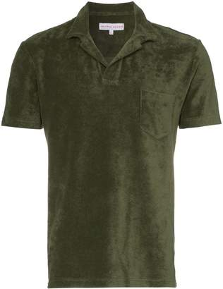 Orlebar Brown Terry towelling shirt