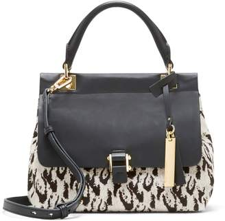 Vince Camuto Beca Leopard-Print Crossbody Bag