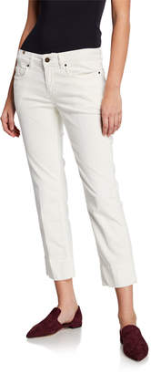 Notify Jeans Hellebora Cropped Capri Corduroy Pants