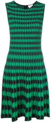 Akris Punto wave pattern dress