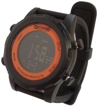 Outdoor Products (アウトドア プロダクツ) - [アウトドアプロダクツ]OUTDOOR PRODUCTS ラウンドデジタル ブラック/オレンジ ODP-505BK/OR 【正規輸入品】