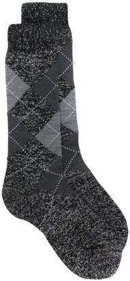 Paris Texas shimmer socks