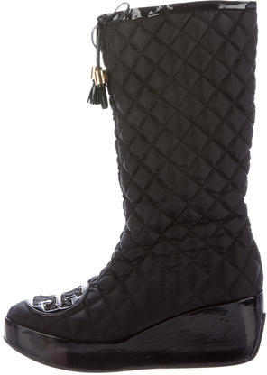 Tory BurchTory Burch Gigi Quilted Boots