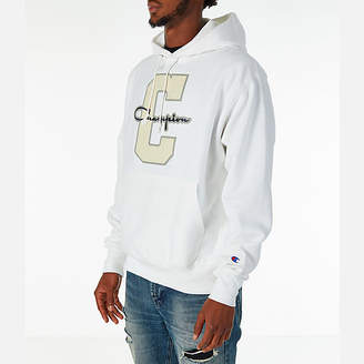 Champion Men's Reverse Weave Graphic Hoodie