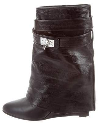 Givenchy Shark-Lock Ankle Boots