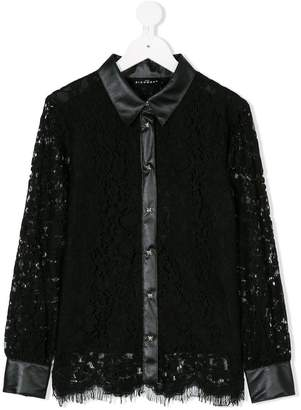 John Richmond Kids lace shirt