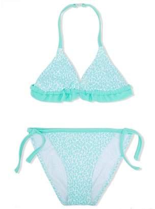 Elizabeth Hurley Kids cheetah print bikini