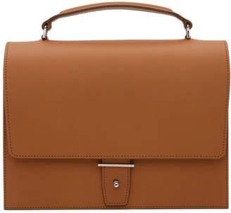 Pb 0110 Brown Top Handle Bag