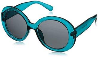 A.J. Morgan Women's Oh Round Sunglasses $24 thestylecure.com