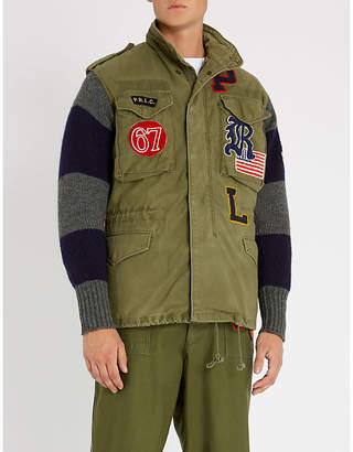 Polo Ralph Lauren Unisex military cotton and wool jacket