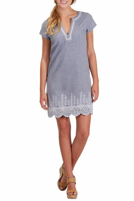 Mud Pie Isle Chambray Dress $62 thestylecure.com