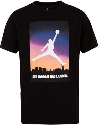Jordan Little Boys Air Logo Cotton T-Shirt