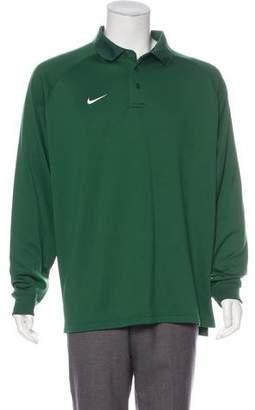 Nike Embroidered Swoosh Polo Shirt