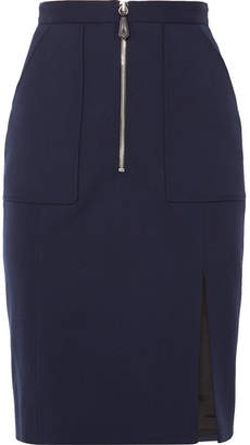 Altuzarra Pollard Wool-blend Pencil Skirt - Navy