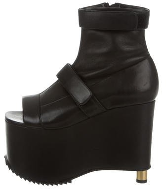 Vera Wang Platform Ankle Boots w/ Tags