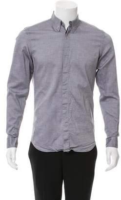 Calvin Klein Collection Woven Button-Up Shirt