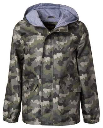 iXtreme Camo Jersey Lined Hooded Anorak Jacket (Toddler Boys)